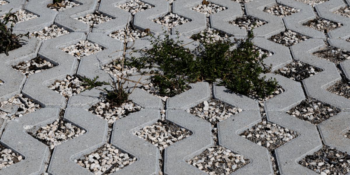 Rasengittersteine 60-40 grau-7273